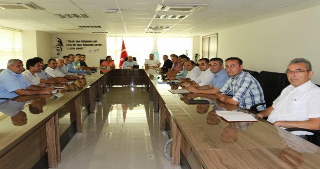 MASKİ'de İlçe Şefleri Toplantısı Yapıldı