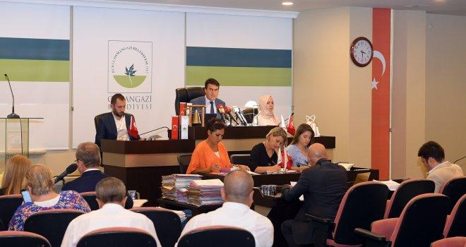 Osmangazi Belediyesi Eylül Ayı Meclis Toplantısı