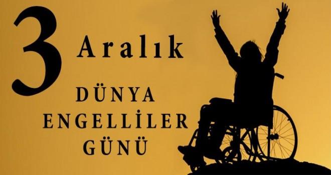 Başkan Hasan Taş'ın,engelliler haftası mesajı.