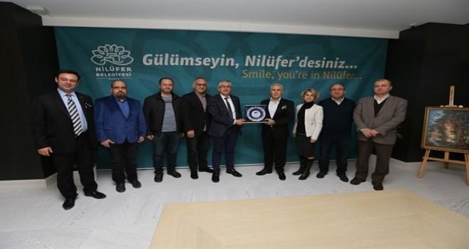 ARSİYAD yönetiminden Başkan Bozbey'e ziyaret