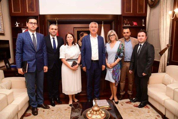 Portekiz'in Ankara Büyükelçisi  ,BaşkanZeydan Karalar'ı Ziyaret Etti.
