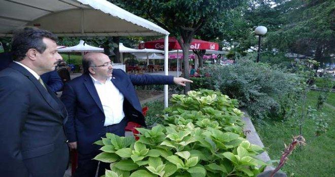 Fatih Parkı'nda yenileme çalışmalarına başlandı