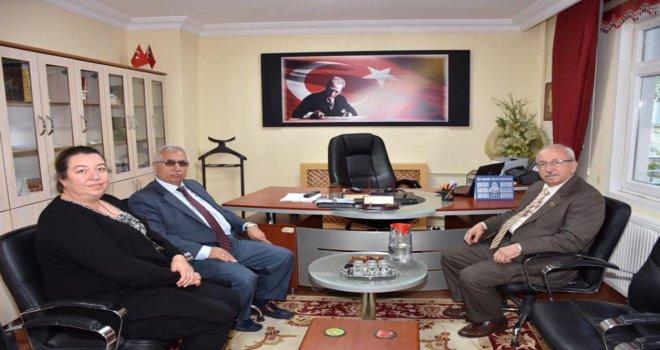 Şarköy Müftüsü Menderes Karapunar'a Ziyaret