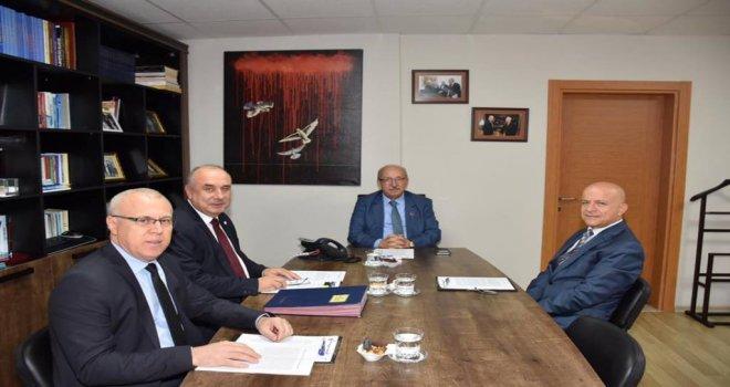 Başkan Albayrak TESKİ Yönetim Kurulu Toplantısına Katıldı