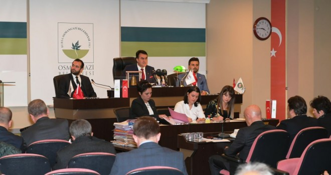 Osmangazi Belediyesi Aralık Ayı Meclis Toplantısı Yapıldı