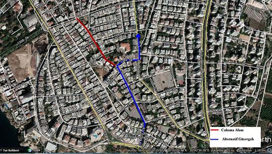 19 Mayıs ile Tınaztepe Caddesi arası 5 gün trafiğe kapanıyor