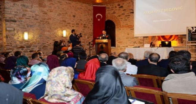 Aliya İzzetbegoviç Osmangazi'de Anıldı