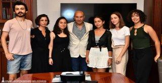 İklim aktivistleri Başkan Soyer'i ziyaret etti