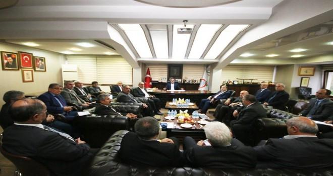 Amasya Belediyesi'nde  Müdürler Toplantısı
