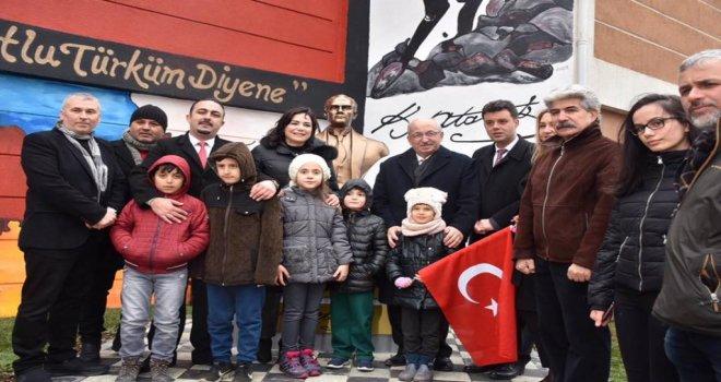 Çorlu'da Atatürk Büstü Açılışı Gerçekleşti