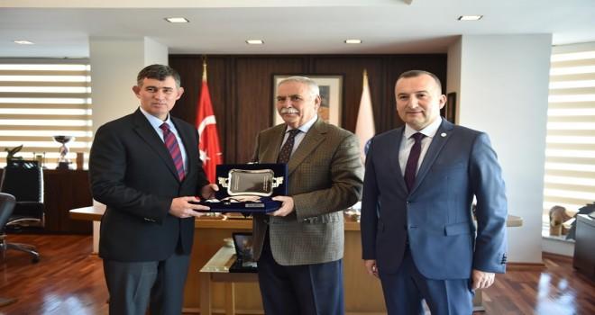 Barolar Birliği Başkanı Feyzioğlu'dan Başkan Gökhan'a Ziyaret