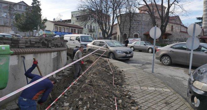 Ortahisar'da trafo ve elektrik kabloları yer altına alınıyor