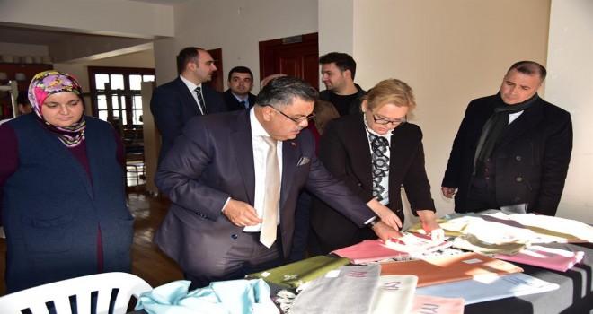 Başkan Yağcı, Osmanlı Kültür ve El Sanatları Merkezini ziyaret etti.