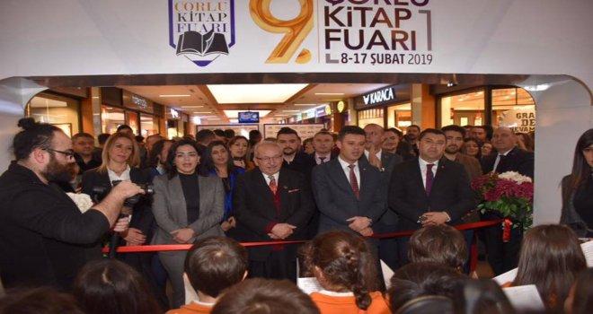 Başkan Albayrak Çorlu Kitap Fuarı'nın Açılış Törenine Katıldı