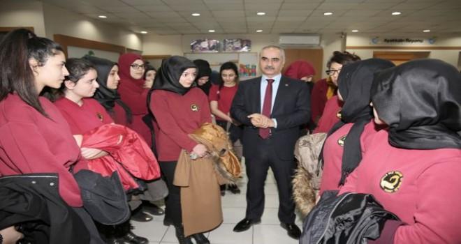 Başkan Aydın,öğrencilere Hayat Ağacı'nı tanıttı