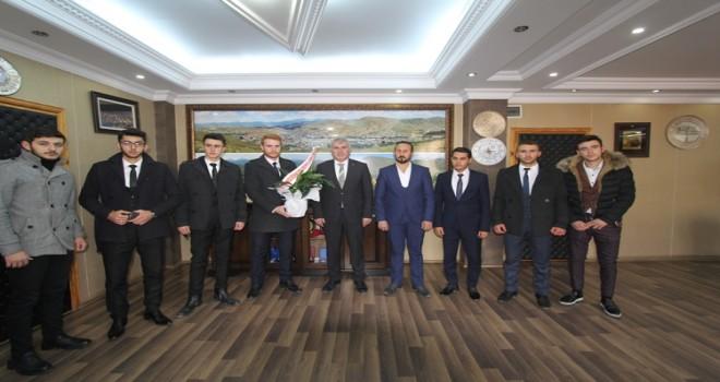 Başkan Memiş'e Öğretmenler Günü Ziyareti