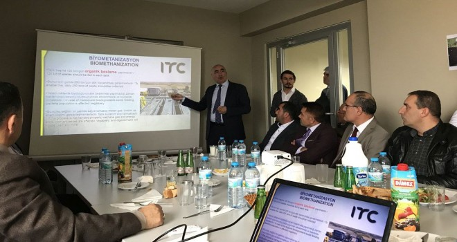 Yozgat'ta Başkanlardan Çöpten Enerji Üretimine destek geldi.